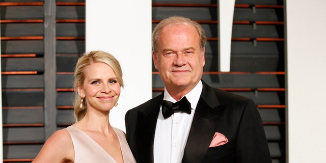 Kelsey Grammer and his wife Kayte Walsh.