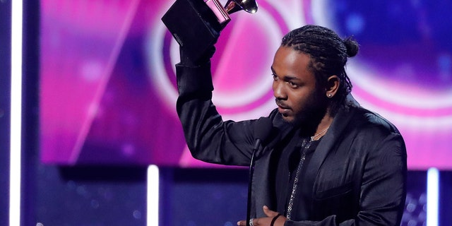 Kendrick Lamar took home a Grammy for Best Rap Album at the 2018 show.