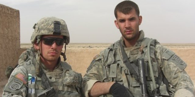 Former Pfc. Stephen Kennedy, left, served as an infantryman with the 82nd Airborne Division and deployed to Iraq before his discharge in 2009.