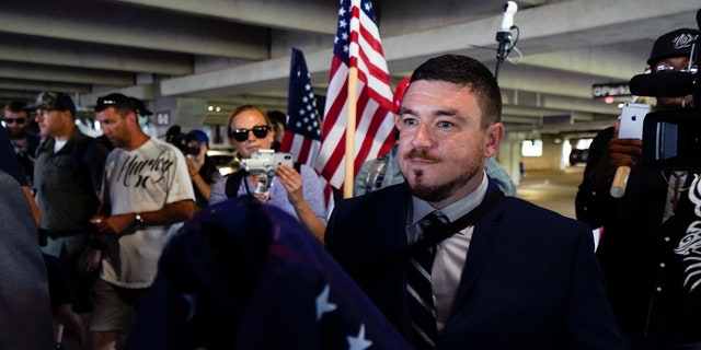 'Unite the Right' organizer Jason Kessler.