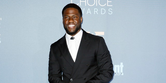 Actor and comedian Kevin Hart arrives at the 22nd Annual Critics' Choice Awards in Santa Monica, California, on Dec. 11, 2016.