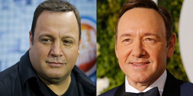 """Fans are asking for Kevin James, left, to replace Kevin Spacey on """"House of Cards."""""""