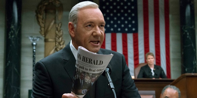 """In the wake of a sexual harassment allegation against actor Kevin Spacey in 2017, Netflix announced """"House of Cards"""" would end after the show's sixth season."""