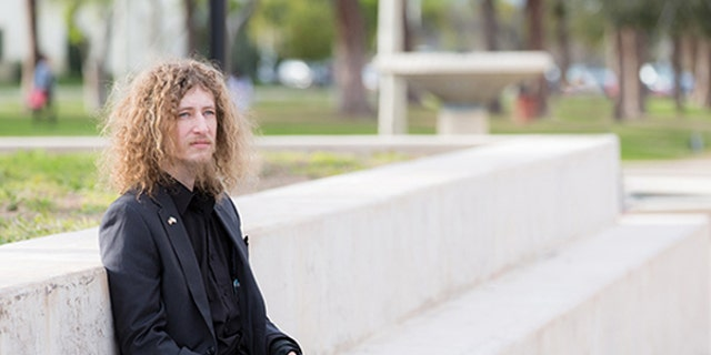 "Pierce College student, Kevin Shaw, 27, filed a lawsuit against the Los Angeles Community College District after he was barred from passing out copies of a document because he wasn't in the designated ""free speech zone"" on campus."