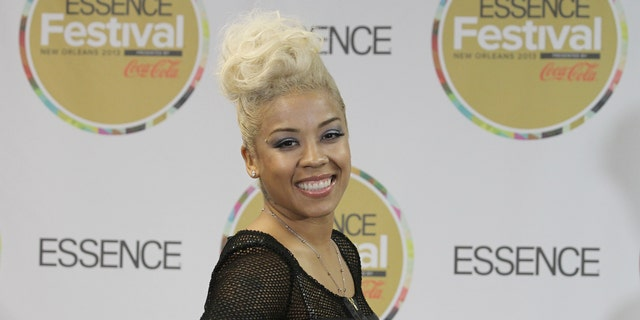 July 6, 2013. Keyshia Cole visits the pressroom on Day 2 of the 2013 Essence Music Festival at the Mercedes-Benz Superdome, in New Orleans.