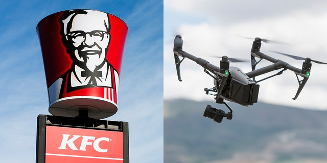 Don't throw away your chicken wing box...it can be turned into a drone.