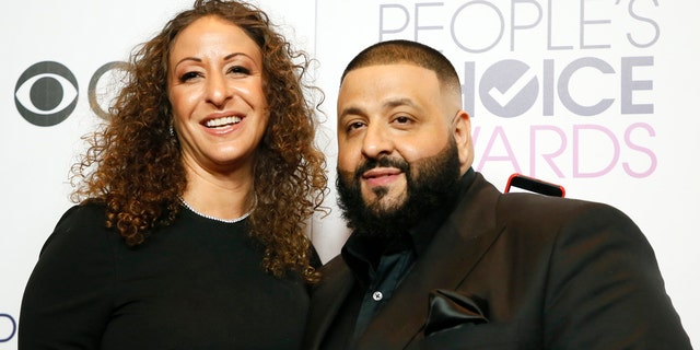 DJ Khaled and his wife, Nicole Tuck.