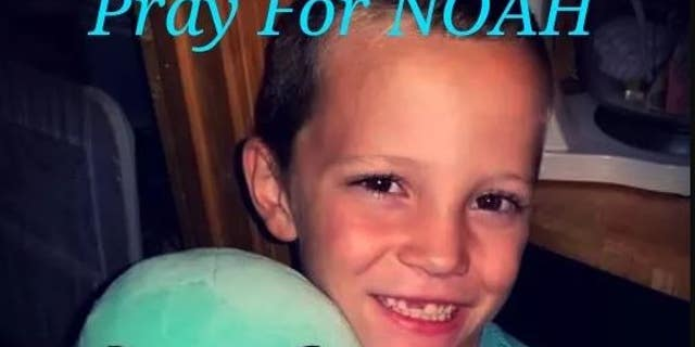 Noah Surrett's mother said her son has been responsive since being rushed to the hospital.