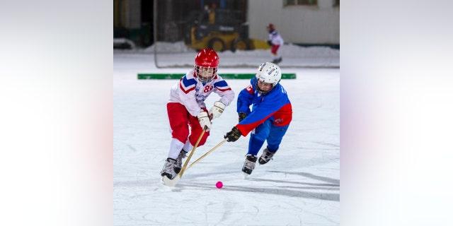 Children's youth hockey.