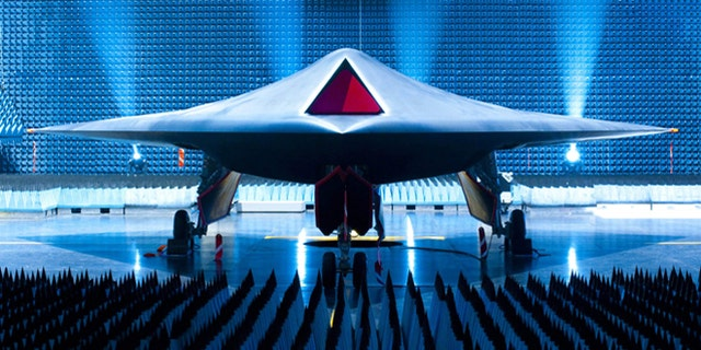 Taranis, a 2010 the prototype of an unmanned combat aircraft of the future. Named after the Celtic god of thunder, the concept explored the possibility of autonomous combat vehicles.