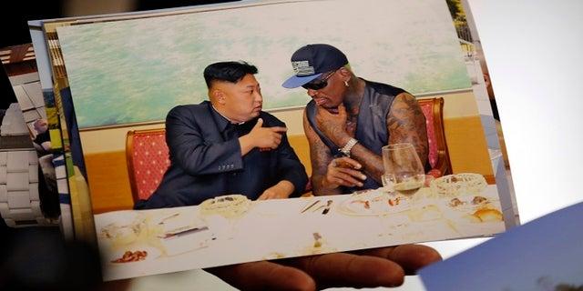 """Dennis Rodman said Kim Jong Un was """"more like a kid than anything."""""""