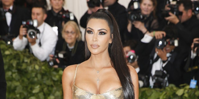 Kim Kardashian spoke out about Kanye West's most recent social media outbursts. Here, Kardashian attends the 2018 Met Gala in New York City.