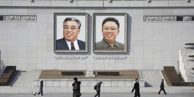 Kim followed in the footsteps of his father and grandfather, whose portraits look down on Pyongyang streets.