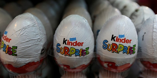 Kinder eggs were also stolen from the truck in Germany, police said.