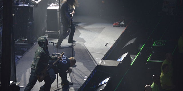KING 810 on stage.