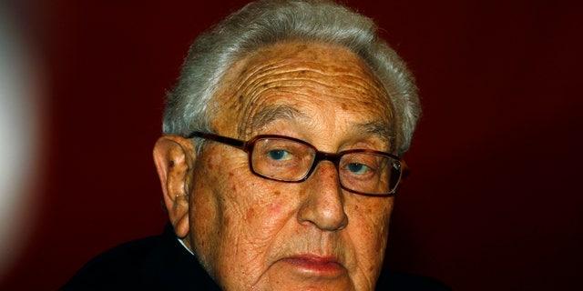 January 16, 2012: Former U.S. Secretary of State Henry Kissinger in Beijing.