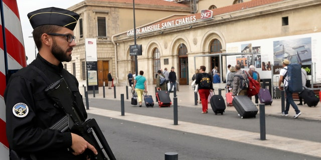 A man fatally stabbed two women outside the train station, in Marseille, southern France