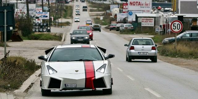 Lamborghini Replica Turning Heads In Kosovo Fox News