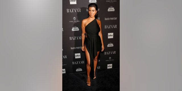 Kourtney Kardashian attends Harper's Bazaar's celebration of 'ICONS By Carine Roitfeld' at The Plaza Hotel during New York Fashion Week in Manhattan, New York, U.S., September 9, 2016.
