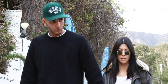 Kourtney hasn't responded yet to the comment left by her boyfriend Younes Bendjima, who she started dating in 2016.