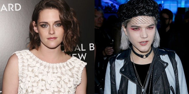 Kristen Stewart, left, and rumored love interest SoKo.