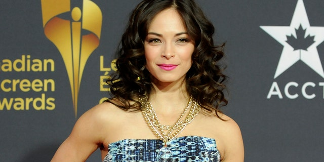 Actress Kristin Kreuk arrives for the Canadian Screen Awards in Toronto March 3, 2013.