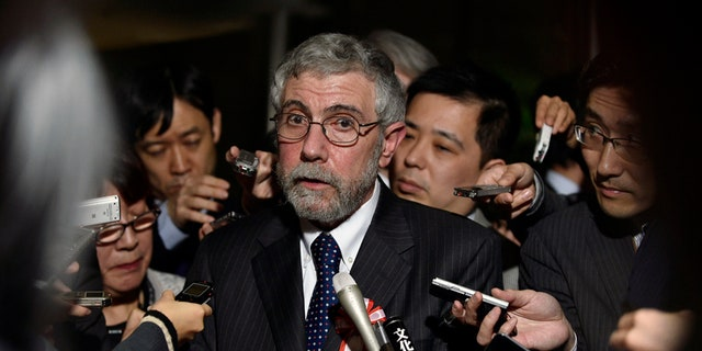 "Economist Paul Krugman claimed the U.S. has joined a new ""axis of evil."""