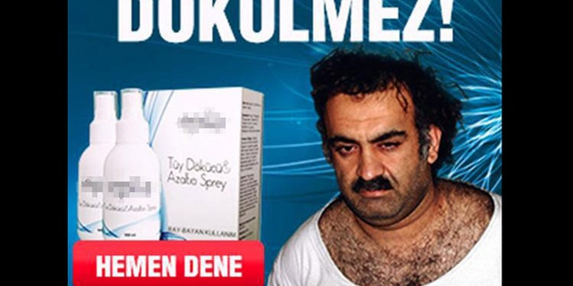 An Epila representative claims the company did not know prior to the ad that Khalid Sheikh Mohammed was a terrorist.