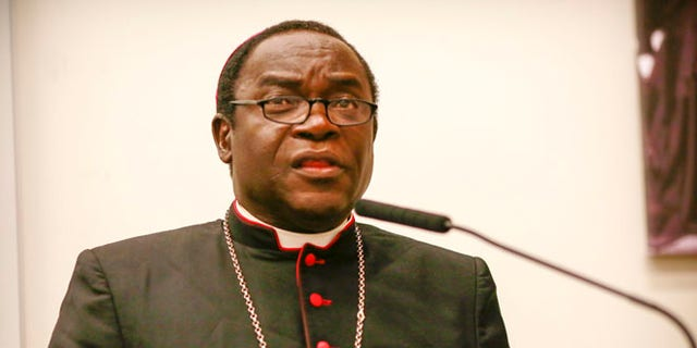 Bishop Kukah was in the US late last month under an invitation from the Aid for the Church in Need,  and recently gave a speech at the Cardinal Egan Catholic Center of New York University.