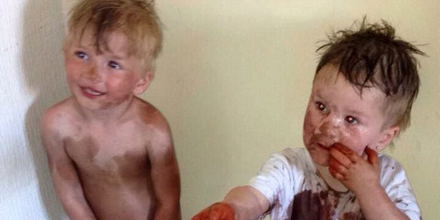 """I cannot cope,"" the Scottish mom wrote of the mischievous boys' silly stunt."