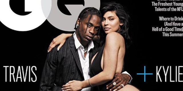The Kylie Jenner-Travis Scott GQ cover was blasted on social media.