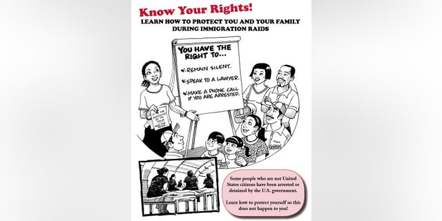 The cover of a Princeton government handout aimed at providing legal advice to illegal immigrants.