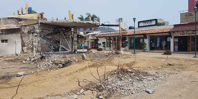 On April 25, police officers who later turned out to be fake attacked a security outpost in neighboring Ixtapa and shot six officers, killing three.