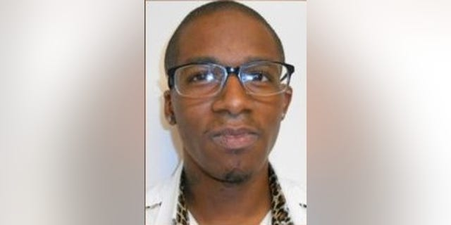 Ladarius Blue, 26, was arrested Monday during the total solar eclipse, investigators said. (Iowa Sex Offender Registry)