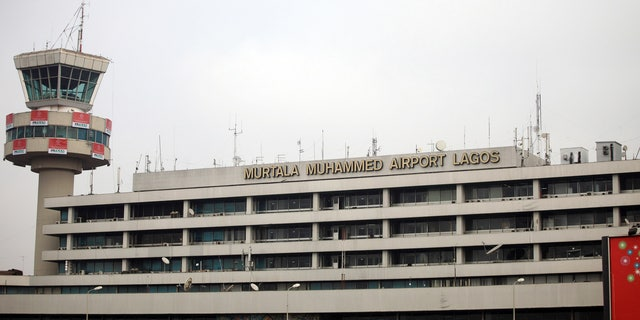 Dec. 27, 2009: Exterior view of the Murtala Mohammed International Airport in Nigeria's commercial capital Lagos.