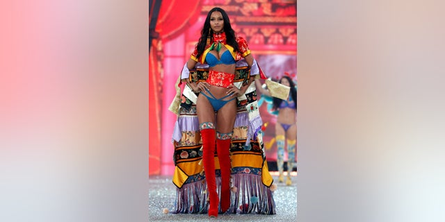 Victoria's Secret Angel Lais Ribeiro.