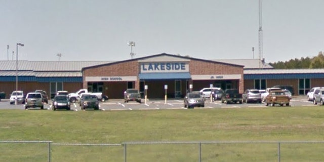The Lakeside Junior/Senior High School in Sibley, La. The parent of student Kaylee Cole, who attends the school, claims it and others in its district are promoting Christianity in violation of the Constitution..