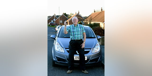 Avid bike rider Keith Limbert now has a Vauxhaull Corsa to drive his wife around in.