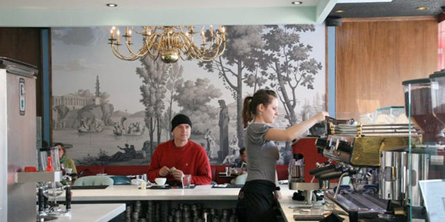 LAMILL Coffee Boutique has a two-hour time limit on its wireless access.