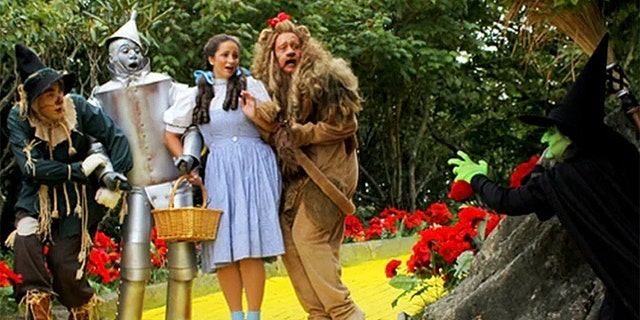 You might even have to dust off your acting chops, as there's a possibility you could be selected to play the role of the Scarecrow, Tin Man, Lion, Witch or Glinda along the way.