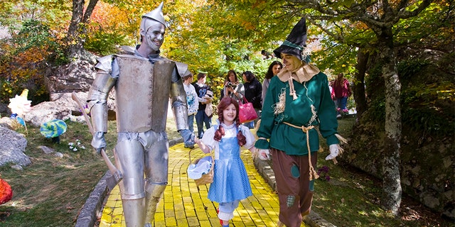 """But while Land of Oz isn't open on a regular basis, park officials say it isn't abandoned but is merely in hibernation and opens periodically for special events like the upcoming Journey with Dorothy and """"Autumn at Oz"""" this fall."""