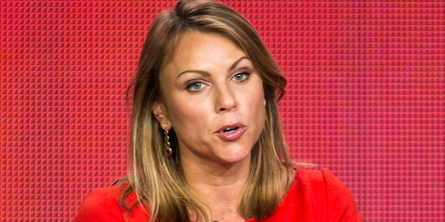 """Lara Logan of the show """"60 Minutes Sports"""" listens to a question on stage during the Showtime panel presentation of the 2013 Winter Television Critics Association Press Tour in Pasadena, California January 12, 2013. REUTERS/Bret Hartman (UNITED STATES - Tags: ENTERTAINMENT MEDIA SPORT) - RTR3CDFS"""