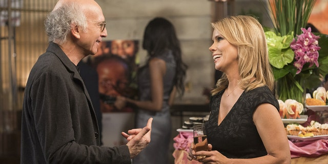 """Larry David (left) and Cheryl Hines in HBO's """"Curb Your Enthusiasm."""""""