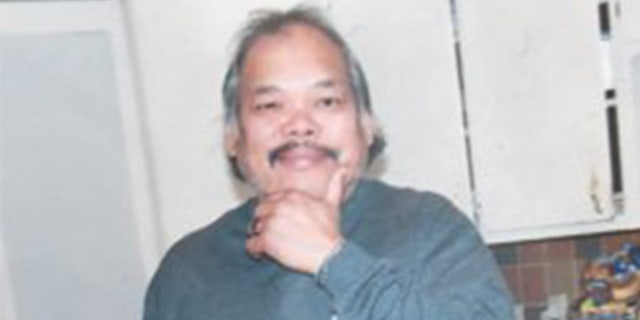 Larry San Nicholas was shot by police officers Sunday after they say he lunged at them with two swords.