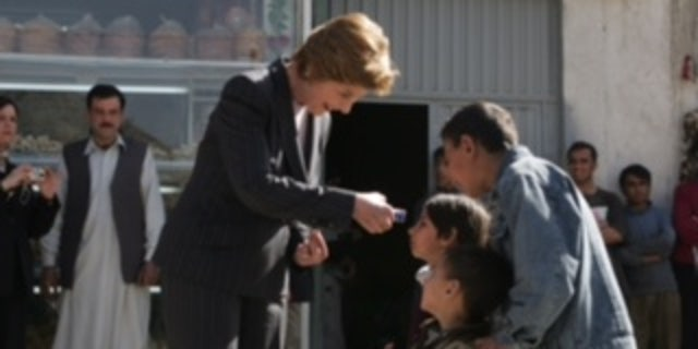 Laura Bush in Afghanistan