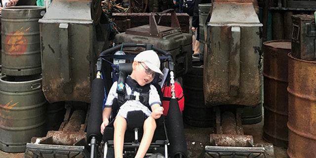 """Disney is one of the richest companies in the world and they work with Make A Wish so disabled people are coming every day."""