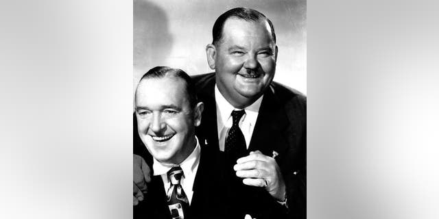 Stan Laurel and Oliver Hardy The double act will live on in a pair of cicadas. Stan (left) and Oliver (right) have two noisy creatures, Baeturia hardyi and Baeturia laureli, to continue their legacy.  (AP)