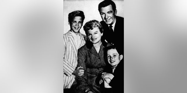 Jerry Mathers said he stayed in touch with his TV family. — AP