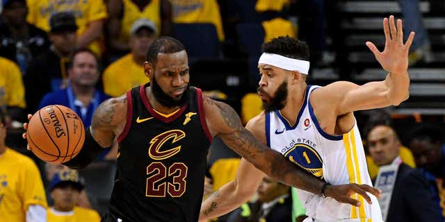 Cleveland's LeBron James scored 51 points in defeat.