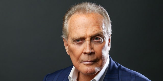 """Lee Majors, a cast member in the Starz series """"Ash vs. Evil Dead,"""" poses for a portrait during the 2016 Television Critics Association Summer Press Tour at the Beverly Hilton on Monday, Aug. 1, 2016, in Beverly Hills, Calif. (Photo by Rich Fury/Invision/AP)"""
